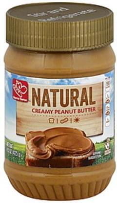 Harris Teeter Peanut Butter Natural, Creamy