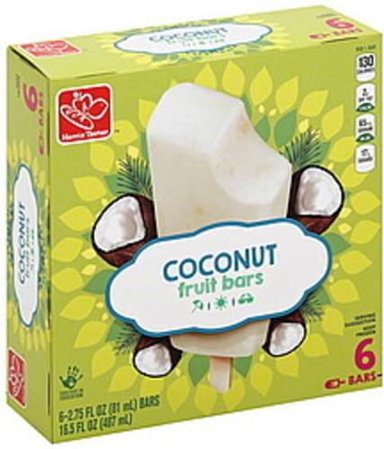 Harris Teeter Coconut Fruit Bars - 6 ea