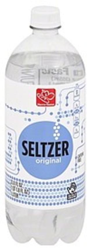 Harris Teeter Original Seltzer - 33.8 oz