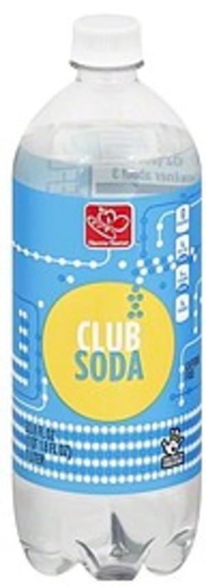 Harris Teeter Caffeine Free Club Soda - 33.8 oz