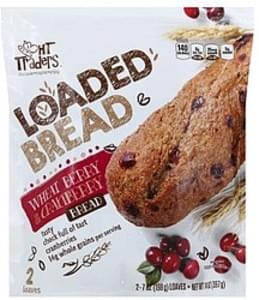 HT Traders Bread Loaded, Wheat Berry & Cranberry