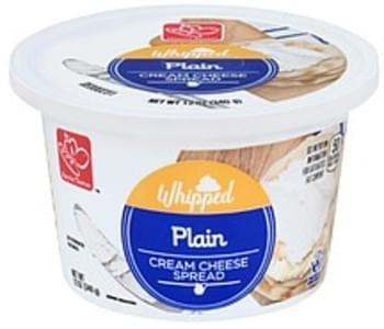 Harris Teeter Cream Cheese Spread Plain, Whipped