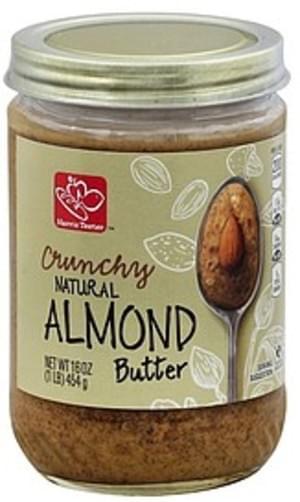 Harris Teeter Crunchy Almond Butter - 16 oz