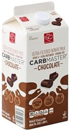 Harris Teeter Milk Nonfat, Ultra-Filtered, Chocolate