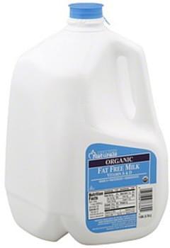 Harris Teeter Milk Organic, Fat Free