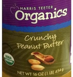 Harris Teeter Organics Crunchy Peanut Butter