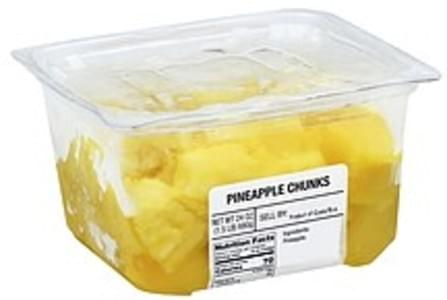 Harris Teeter Pineapple Chunks