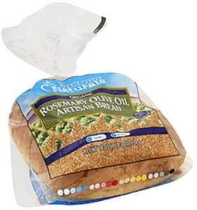 Harris Teeter Bread Artisan, Rosemary Olive Oil