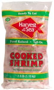 Harvest of the Sea Premium Cooked Shrimp Tail-On