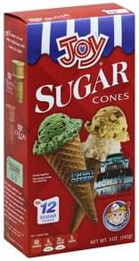 Joy Sugar Cones