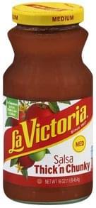 La Victoria Salsa Thick 'n Chunky, Medium