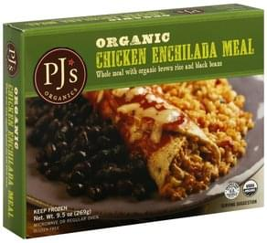 PJs Enchilada Meal Organic, Chicken