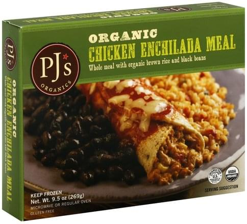 PJs Organic, Chicken Enchilada Meal - 9.5 oz