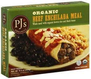 PJs Enchilada Meal Organic, Beef