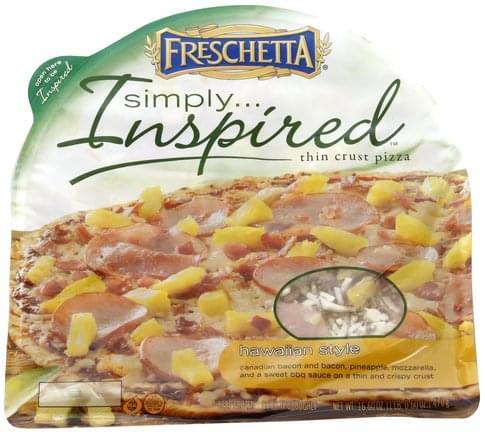 Freschetta Hawaiian Style, Thin Crust Pizza - 16.6 oz