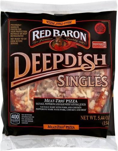 Red Baron Meat-Trio Pizza - 5.44 oz
