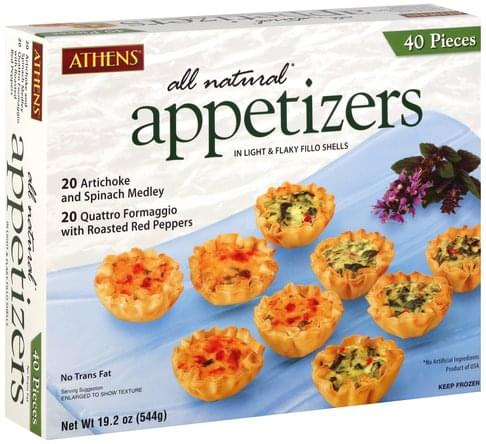 Athens Appetizers - 40 ea