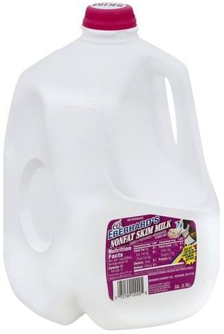Eberhards Nonfat, Skim Milk - 1 gl
