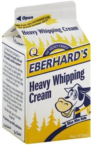 Eberhards Heavy Whipping Cream - 1 pt