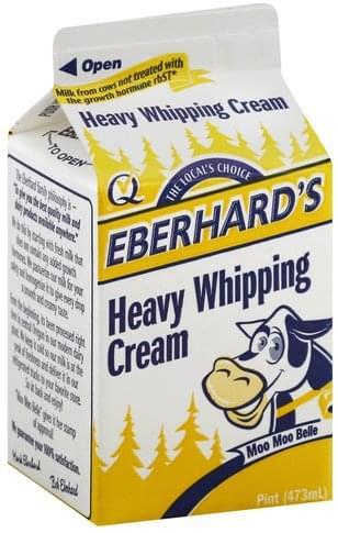 Eberhards Heavy Whipping Cream - 1 pt