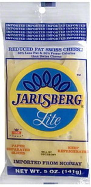 Jarlsberg Swiss, Reduced Fat Cheese - 5 oz