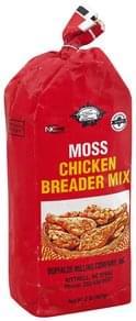 Buffaloe Milling Breader Mix Moss Chicken