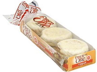 Fiber One English Muffins Original