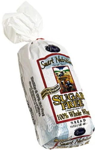 Franz Sugar Free 100% Whole Wheat Bread - 16 oz