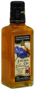 International Collection Flax-Seed Oil Virgin, with Cinnamon Flavor