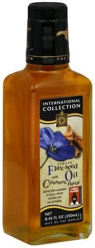 International Collection Virgin, with Cinnamon Flavor Flax-Seed Oil - 8.45 oz