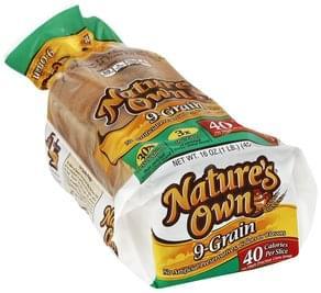 Natures Own Bread 9-Grain