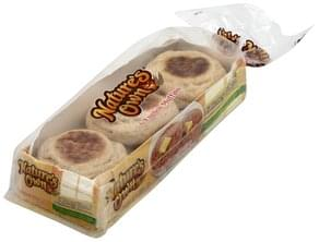 Natures Own English Muffins Honey Wheat