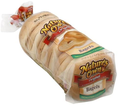 Natures Own Original Bagels - 22 oz