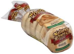 Natures Own Bagels Original, Pre-Sliced