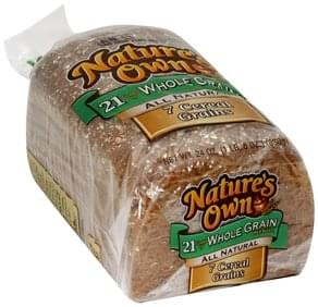 Natures Own Bread Whole Grain