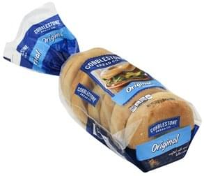 Cobblestone Bread Bagels Original