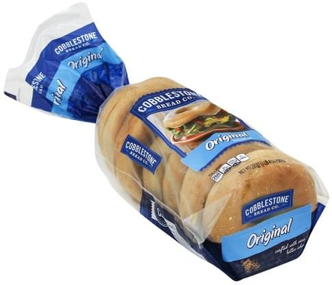 Cobblestone Bread Original Bagels - 20 oz