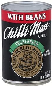 Chilli Man Chili Vegetarian, with Beans