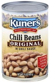Kuners Chili Beans Original, in Chili Sauce