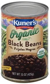 Kuners Black Beans Organic