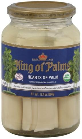 King of Palms Hearts of Palm - 19.4 oz