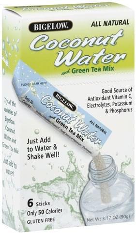 Bigelow Coconut Water and Green Tea Mix