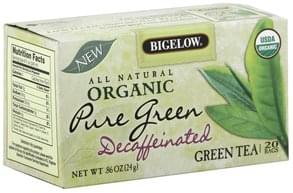 Bigelow Green Tea Pure Green, Decaffeinated