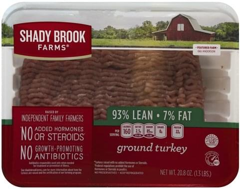 shady brook farms ground turkey