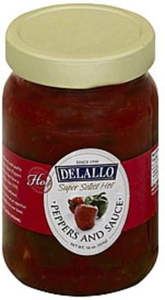 Delallo Peppers and Sauce Super Select Hot