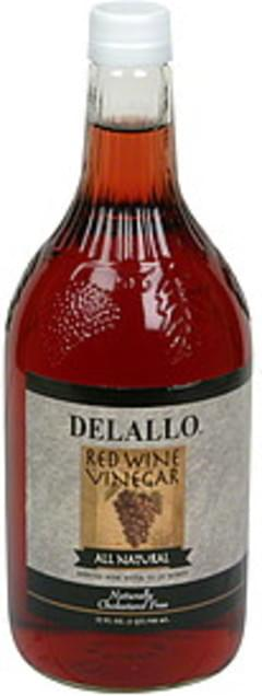 DeLallo Red Wine Vinegar All Natural