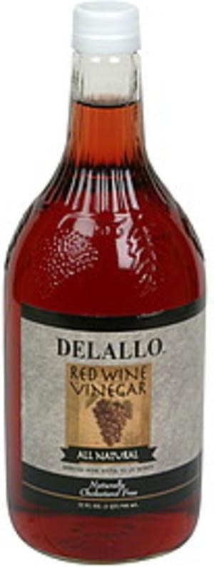 DeLallo All Natural Red Wine Vinegar - 32 oz