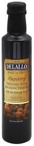 DeLallo Dressing with Balsamic Vinegar, Raspberry Dressing