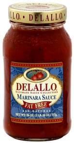 DeLallo Marinara Sauce Fat Free