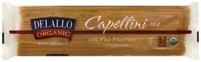 Delallo Capellini 100% Whole Wheat, No. 1